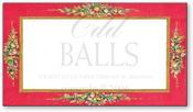 Product Image For Broach Red Reply Card